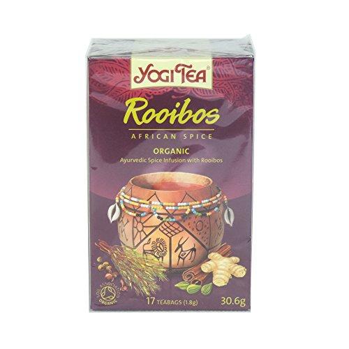 Yogi Thee - Rooibos Afrikaanse Spice - 30.6g (Geval van 6)