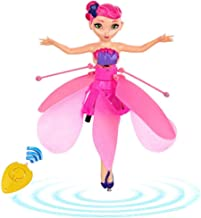 Minaliv Flying Fairy Doll Birthday Holiday Xmas Party Supplies Infrared Induction and Remote Control Toys Teen Toy Flying Princess Doll