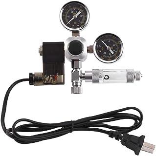 Regulador de acuario de CO2 - Mini indicador de doble indicador con contador de burbujas y