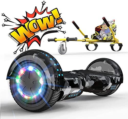 RCB Hoverkart Gyropode Hoverboard Kart pour Enfant et...
