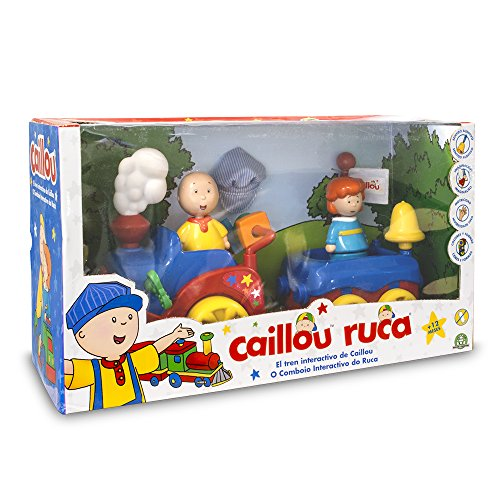 Caillou–Zug mit Funktionen (GIOCHI PREZIOSI cal05000)