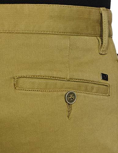 blackberrys Men's Slim fit Clean Front Casual Trouser Pants