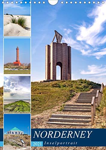 Norderney Inselportrait (Wandkalender 2021 DIN A4 hoch)