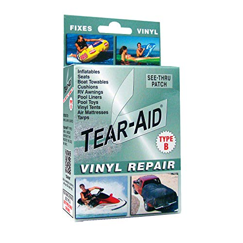 TEAR-AID Vinyl Repair Kit, Green Box Type B, Single