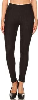 Jvini Women's High Waisted Super Soft Pull-On Skinny Pants