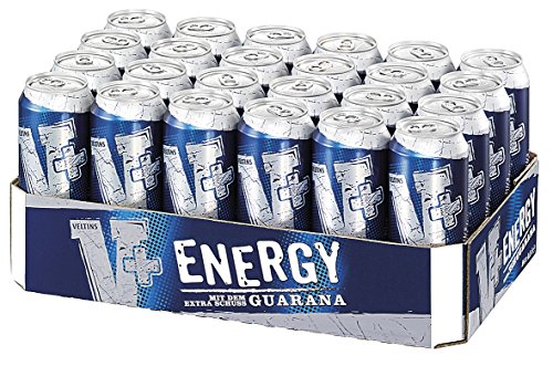V+ Energy Biermischgetränk, EINWEG (24 x 0.5 l Dose)