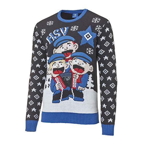 Hamburger SV HSV Pullover/Weihnachtspullover/Ugly Christmas Sweater ** Shantychor ** (M)