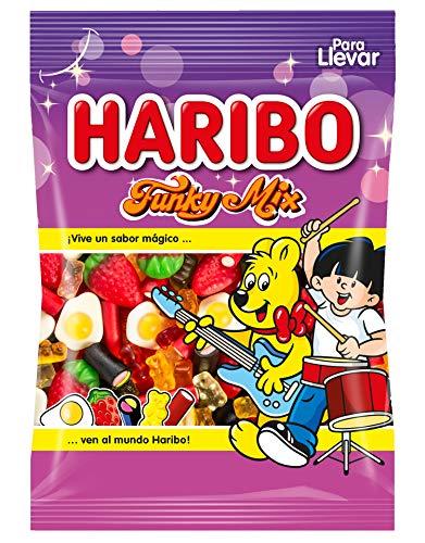 Haribo - Funky Mix - Surtido de golosinas - 100 g