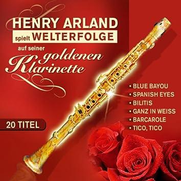 Spielt Welterfolge auf seiner goldenen Klarinette