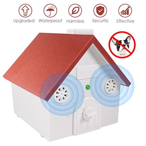 Anti Barking Device,Ultrasonic Anti Barking,Hidden Sonic Bark Deterrents Pet Trainer with Adjustable Ultrasonic Level Control Safe for Small Medium Large Dogs