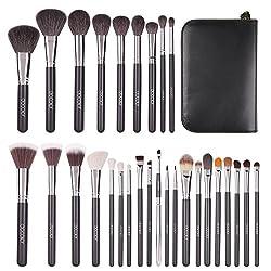 powerful Dokara 29 points Makeup Brush Set Professional Makeup Brush Set Premium Goat Hair Kabuki Foundation…