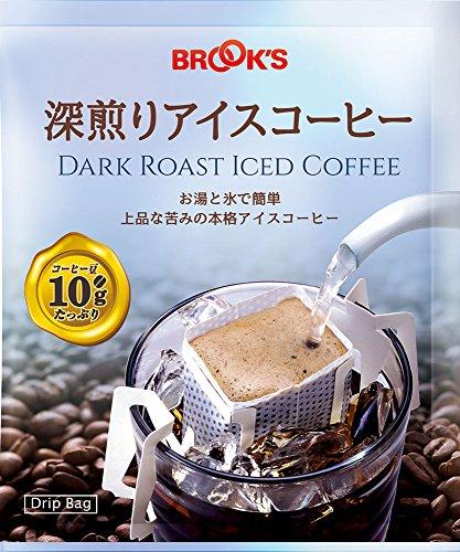 ブルックス ドリップバッグ 深煎りアイスコーヒー 10g×90袋