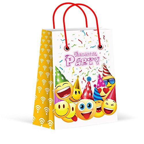 Emoji Party Goodie Bags (Pack of 12)