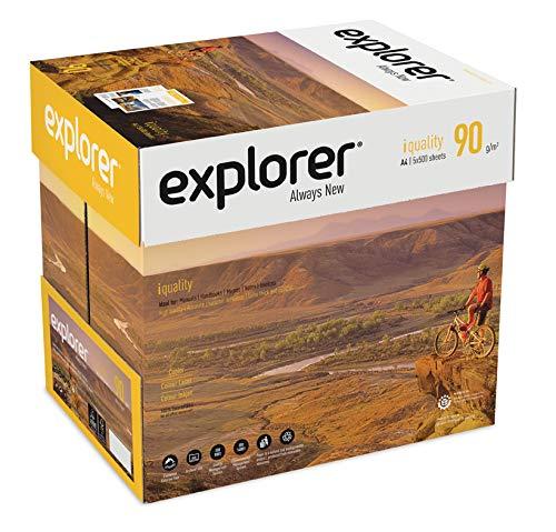 Explorer Kopierpapier, 210 x 297 mm, A4, Weiß, 2500 Blatt
