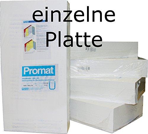 Promat PROMASIL 950-KS 40mm 1x Wärmedämmplatte Brandschutz A1 DIN 4102