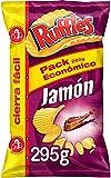 Ruffles Jamon Patatas Fritas, 295g