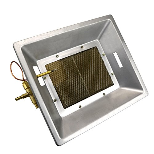 MUDUOBAN LPG Gas Heater Manual Infrared Ceramics Poultry Brooder for Chicken Coop Duck Piglet Birds House