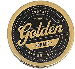6.7 Oz Organic & Natural Hair Pomade Wax & Oil Base - Handcrafted with love in Denmark by Us - Perfect Shine effect for long and short hair - Medium and Flexible Hold - UNISEX -Organic