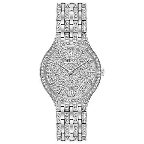 bulova women crystal watch - 1