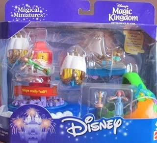 Disney Magic Kingdom PETER PAN'S FLIGHT Playset Magical Miniatures w SHIPS Really