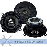 Hifonics Lautsprecher STX-52 300W 130 mm 2 Wege Koax passend für Mini Mini...