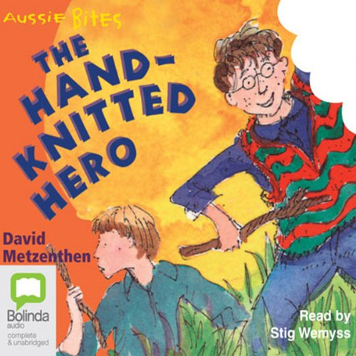 The Hand-Knitted Hero: Aussie Bites cover art