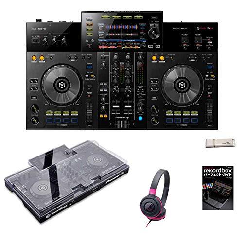 PioneerDJXDJ-RR+ATH-S100BPKヘッドホンSET(専用保護カバー&初心者向け教則動画&rekordbox解説本&USBメモリ付属)DJコントローラー