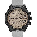 Diesel Men's Watch Boltdown Quartz Silicone Gray with Gray Dial DZ7416