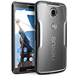 Nexus 6 Case, SUPCASE Google Nexus 6 Case Unicorn Beetle Series Premium Hybrid Bumper Case Cover for Motorola Nexus 6 (Frost Clear/Black)