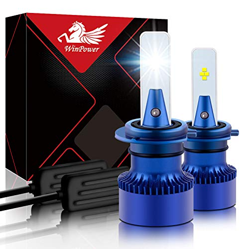 GENERAL TRADERS KIT H4 LAMPADE A LED CREE FULL LED 3800 LUMEN 6000K DIGITALE 12V 24V CAMION AUTO