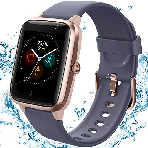 TEMINICE High-End Fitness Trackers,Health Sports Smart Watch with Heart Rate & Sleep Monitor,Calorie Step Counter,1.3