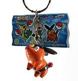 Pokemon Best Wishes Figure Keychain Banpresto 2011-1.5' Poka