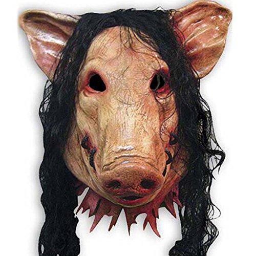 HAOSUN Halloween Scary Mask Horrible Mask Pig Face Mask Masquerade...