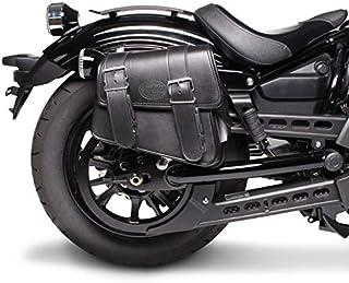 Borsa laterale 3L per Suzuki Intruder VL 1500//250 LC nero sinistra
