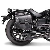 Borsa laterale 8L per Moto Guzzi V7 III Racer/Stone nero Destra