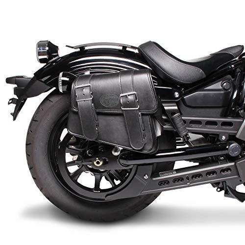 Borsa laterale 8L Compatibile con Moto Guzzi V7 III Racer/Stone nero Destra