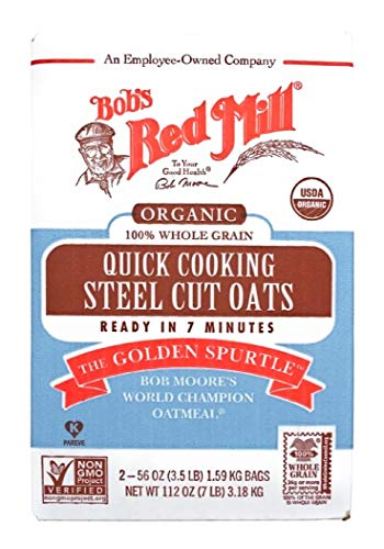 Bob's Red Mill Quick Cooking 100% Whole Grain Oats, 112 Ounce