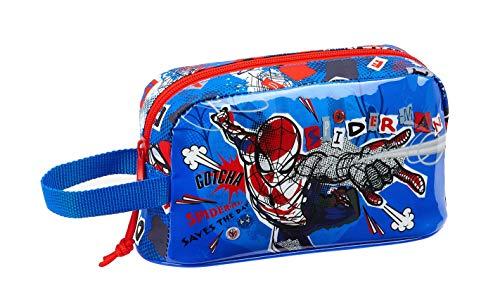 safta 812043859 Bolso Portameriendas térmico Spiderman, Azul