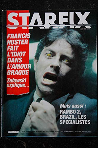 STARFIX 024 1985 SYLVESTER STALLLONE RAMBO 2 8 PAGES FRANCIS HUSTER L\'AMOUR BRAQUE BRAZIL LES SPECIALISTES MICHEL DEVILLE