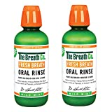 The Breath Co Fresh Breath Oral Rinse Mild Mint Duo, 2 x 500 ml, Mint, 1 kg