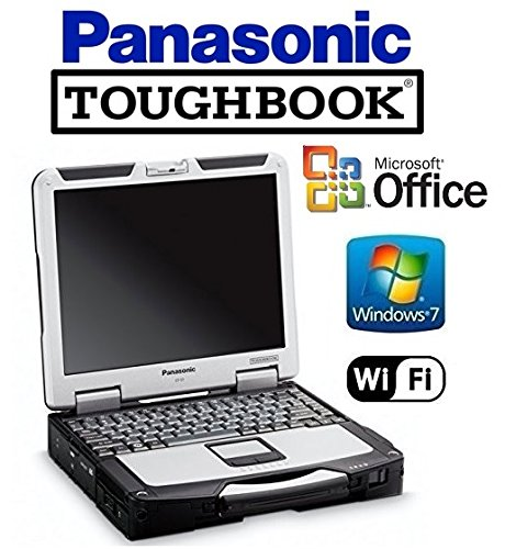 "Panasonic Toughbook Laptop - CF-31 - Intel Core i5 2.6GHz CPU - ""NEW"" 1TB Hard Drive - 12GB DDR3 - 13.1"" TOUCHSCREEN Display - DVD/CD-RW - WiFi - Win 7 Pro + MS Office"