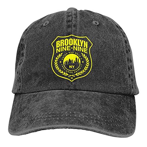 Opahxa5 Cappellini Baseball Brooklyn 189 Police Symbol Fan Art Comedy Detective Sitcom Cappellini per Casquette in Denim Lavato da Camionista retrò Regolabili per Adulti
