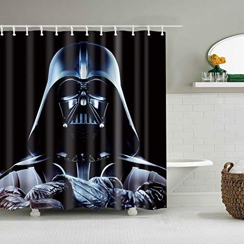 "Skull Bathroom Mat Waterproof Polyester Fabric Shower Curtain 12 Hooks 72x72/"" 42"