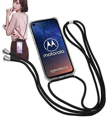 Yayago - Collana per telefono cellulare con cordoncino e custodia per Motorola One Vision