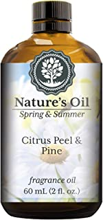 Citrus Peel & Pine Fragrance Oil (60ml) For Diffusers, Soap Making, Candles, Lotion, Home Scents, Linen Spray, Bath Bombs, Slime