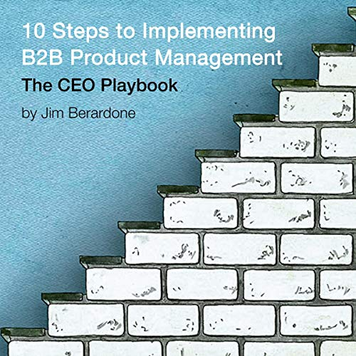 10 Steps to Implementing B2B Product Management: The CEO Playbook audiobook cover art