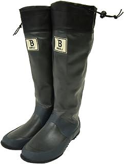 [日本野鳥の会] BW-01 バードウォッチング長靴 レインブーツ/ラバーブーツ グレー