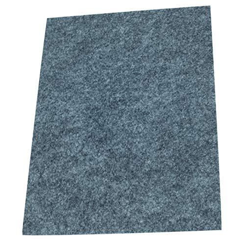 Preisvergleich Produktbild Fachhandel für Vliesstoffe Filzgleiter / Möbelgleiter / Bastelfilz A5 selbstklebend,  1 Stück,  Grau,  4mm stark