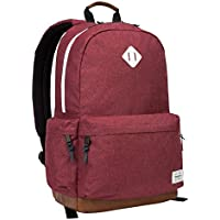 Targus Strata II College and Travel Laptop Backpack with Protective Sleeve (Burgundy)