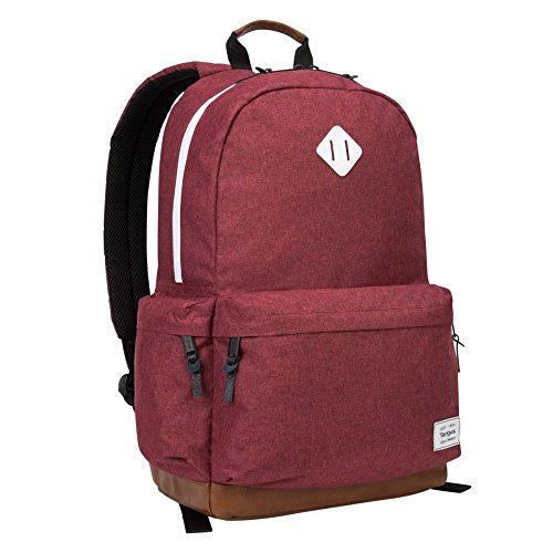 Targus Strata II College and Travel Laptop Backpack with Protective Sleeve for 15.6-Inch Laptop, Burgundy (TSB93603GL)